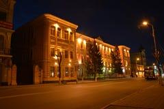 A casa no centro do Samara Fotografia de Stock