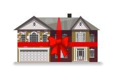 Casa no curva-nó Imagens de Stock Royalty Free