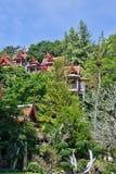 Casa no estilo tailandês na selva Foto de Stock Royalty Free