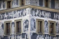 A casa no minuto em Praga Imagem de Stock Royalty Free