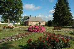 Casa no parque Fotografia de Stock Royalty Free