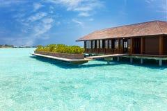 A casa no seacoast Imagens de Stock Royalty Free