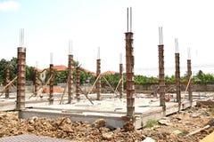 Sito della costruzione di edifici Immagine Stock