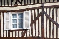 Casa normanda típica Fotos de archivo