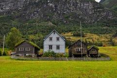 Casa noruega. Imágenes de archivo libres de regalías