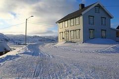 Casa noruega vieja Fotos de archivo