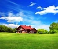 A casa nova Imagem de Stock Royalty Free
