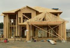 Casa nova Fotografia de Stock