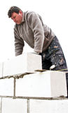 Casa nova de construção Fotografia de Stock