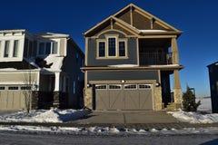Casa nuevamente construida Imagen de archivo