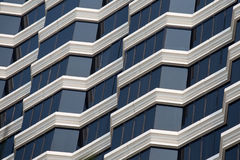 Casa o edificio urbana, modelo de la fachada Fotos de archivo