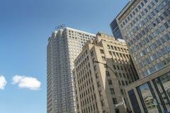 Casa olímpica canadense em Montreal Fotografia de Stock