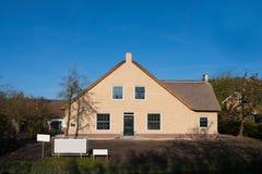 Casa olandese dell'azienda agricola Immagini Stock