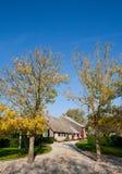 Casa olandese dell'azienda agricola Immagini Stock Libere da Diritti