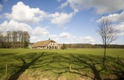 Casa olandese dell'azienda agricola Fotografie Stock