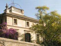 Casa ordinaria a Barcellona Fotografia Stock