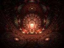Casa ottica di arte del Buddah 07 illustrazione di stock
