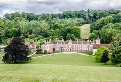 Casa Oxfordshire Inglaterra do parque de Stonor fotografia de stock royalty free