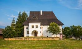 Casa padronale di Liptov Immagine Stock