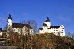 Casa padronale Schwarzenberg Immagini Stock