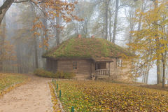 Casa padronale Trigorskoye del bagno fotografie stock