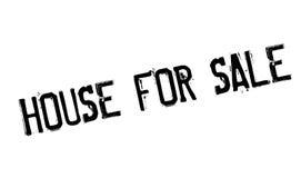 Casa para el sello de goma de la venta Fotografía de archivo libre de regalías