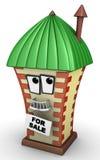 Casa para la venta Fotografía de archivo libre de regalías