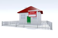 Casa para la venta Foto de archivo