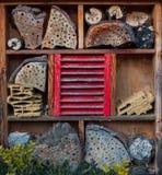 Casa para los insectos - hotel del insecto Foto de archivo