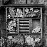 Casa para los insectos - hotel del insecto Imágenes de archivo libres de regalías