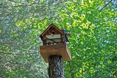 Casa para los pájaros imagenes de archivo