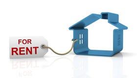 Casa para o aluguel ilustração do vetor