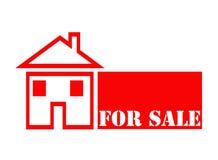 Casa para a venda. Fotografia de Stock Royalty Free