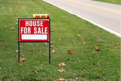 Casa para a venda Fotos de Stock Royalty Free