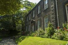 Casa parroquial de Haworth Fotos de archivo