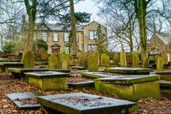 Casa parroquial de Haworth Foto de archivo libre de regalías