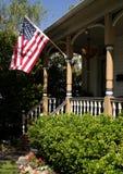 Casa patriótica Fotos de archivo