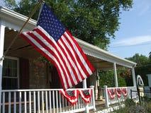 Casa patriottica del paese immagini stock libere da diritti