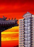 Casa a Pechino. fotografia stock libera da diritti