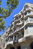 Casa Pedrera Royalty Free Stock Photo