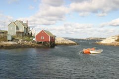 Casa pelo oceano Imagem de Stock Royalty Free