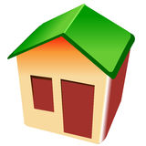 Casa pequena imagem de stock