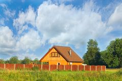 Casa pequena acolhedor Imagens de Stock