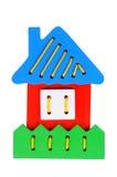 Casa pequena: brinquedo educacional Foto de Stock
