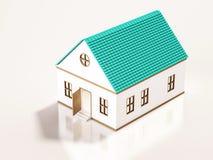 Casa pequena, 3d rendido Imagem de Stock