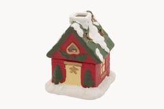 Casa pequena da argila de ano novo Fotografia de Stock