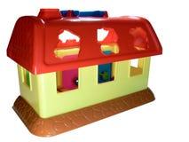 Casa pequena do brinquedo Imagens de Stock Royalty Free