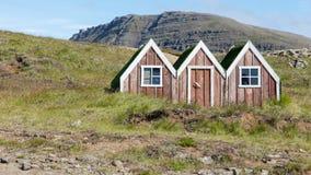 Casa pequena do duende do brinquedo em Islândia Imagens de Stock Royalty Free