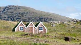 Casa pequena do duende do brinquedo em Islândia Imagens de Stock
