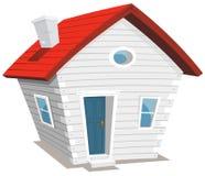 Casa pequena engraçada ilustração stock